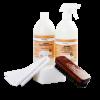 Абсорбирующее махровое полотенце для удаления осттков чистящих средств с поверхности кожи, дерева и ткани